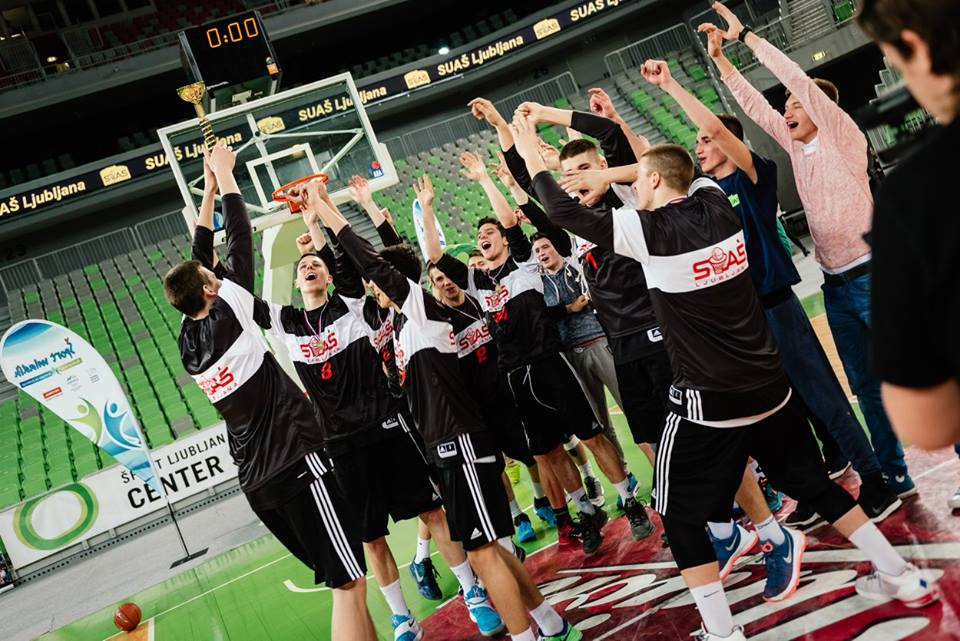 Košarkarji 2. zapored državni prvaki