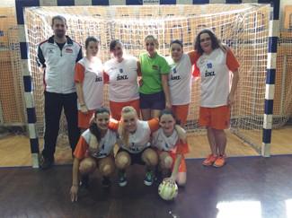 Nogometna ekipa dijakinj med najboljšimi v Ljubljani