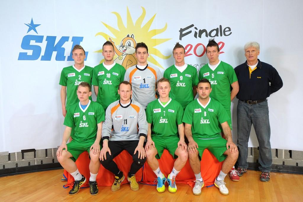 Nogometaši prvaki ŠKL-ja