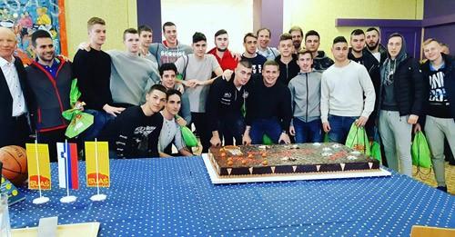 Prvaki Ljubljane v košarki in nogometu