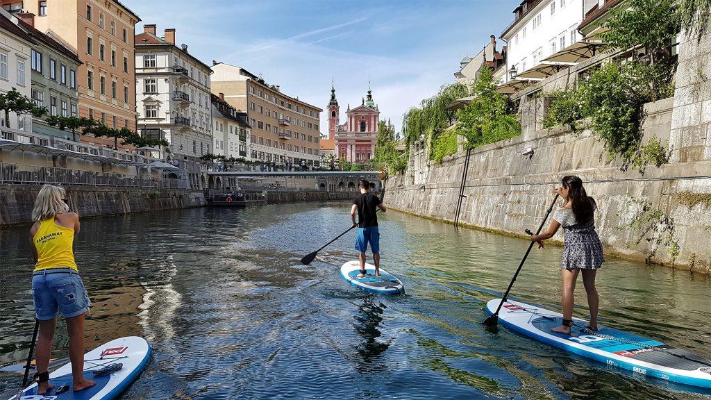 Projekt »A s'upaš po Ljubljanici«