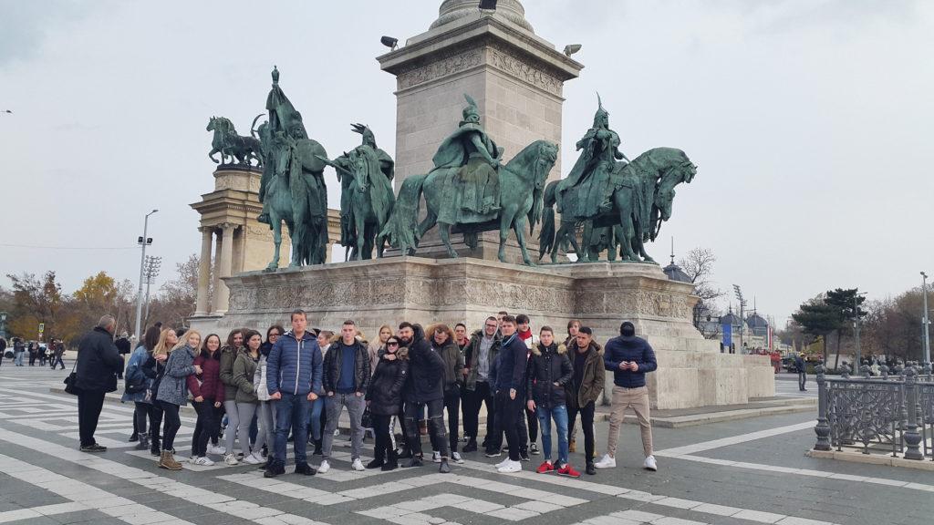 Veličastna Budimpešta za veličasten zaključek šolanja