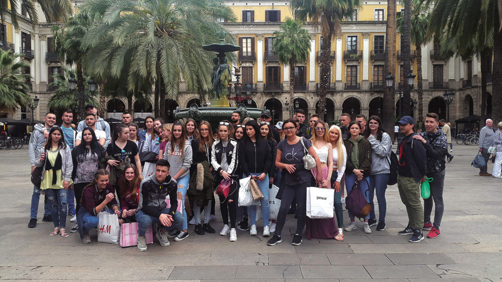 Ekskurzija v Barcelono